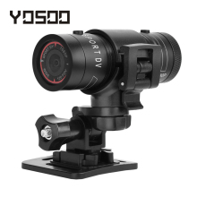 YOSOO F9 Full HD 1080P Waterproof Bike Motorcycle Helmet Outdoor Sports Action Camera Video DV Mini Camcorder