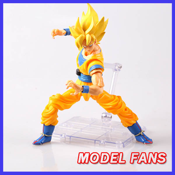 MODEL FANS Dragon Ball  XC modle Super Saiyan 1 Son Goku SHF Action Figure Free shipping<br><br>Aliexpress