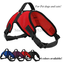 Free shipping Service Large Dogs Cats Mesh Harness Vest Newest Design Pet Supplies accessories dog clothes Red color(China)