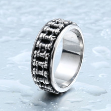 BEIER New Biker Bicycle Chain Ring For Man Stainless Steel New Designed Man's Motorcycle Ring For Man BR8-301