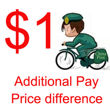 Additional pay as Shipping Difference Payment Link or price difference payment for special service link only