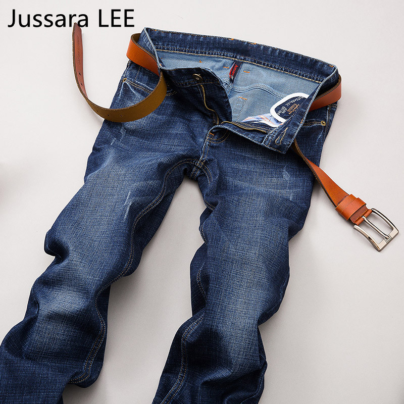 2017 Autumn Winter jeans pants men designer jeans casual pants mid-rise straight men clothing tops trousersОдежда и ак�е��уары<br><br><br>Aliexpress