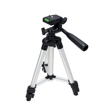 Portable Universal Standing Tripod 360 degree horizontal Outdoor Fishing Tourism for Sony Canon Nikon Olympus Camera Camcorders(China)