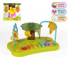 Music Educational Learning Animal Keyboard Developmental Kid Music Toy For Baby Mini Piano Toy