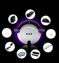1PC KRV208 New Intelligent Household Ultra-Thin Robot Smart Efficient Automatic Vacuum Cleaner