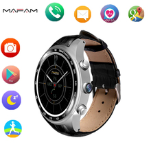 wearable device MAFAM KW88 smart watch support 32GB TF card MP3/MP4 Android 5.1 3G Wifi bluetooth camera 2.0MP PK H1 H2 clock(China)