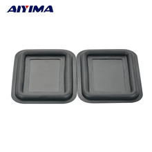Aiyima 1Pairs Bass Membrane Bluetooth Vibration Speaker Passive Woofer Bass Diaphragm Plate Mini 55*66MM