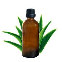Aloe oil 100% Natural Aloe Base Oil 100ml essential oil Moisturize Hydrating Repair Skin Anti Ageing Body Massage Oil J10(China)