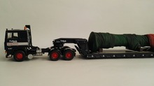 CC15501  1:50 Volvo F12 5 Axle King Trailer with Load