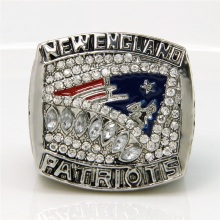Replica AFC 2011 New England Patriots America Football Championship Ring, Custom Championship Ring(China)