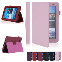 "PDA Protection Covering Cases Folio PU Leather Case Cover Stand For Samsung Galaxy Tab2 7"" Tablet P3100+pen screen protector"