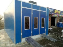 Chinese professional China Car And Pickup Truck Paint And Drying Spray Booth with good price(China)