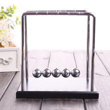 Newton Cradle Steel Ball Physic School Educational Supplies teaching Science Desk toys Christmas present for childrenNC-G