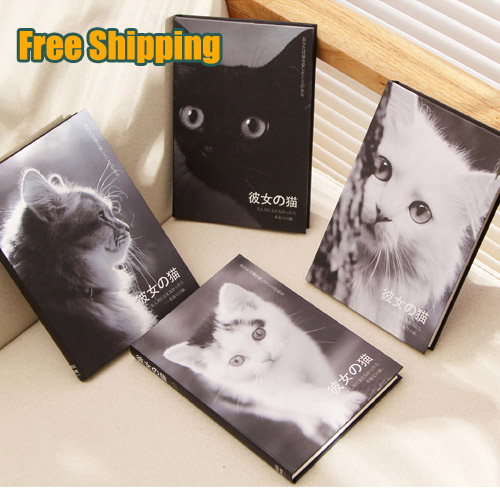 Blank Vintage Sketchbook Diary Drawing Painting 80 sheet Cute Cat Notebook paper Sketch Book line grid blank point  to do Gift<br><br>Aliexpress