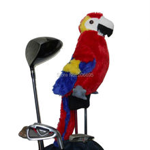 Hot Sale Golf Fairway Wood Head Cover , Tropical Parrot Cartoon Character, #3 wood Headcover, Nice Golf Gift