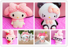 Min.$15(Mixed Order) Cell Phone Case Resin Hello Kitty Melody  Collection Decoration Colour Lovely Charms
