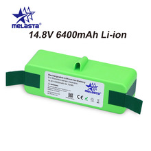 Melasta Upgraded 14.8v 6400mAh Liion Replacement Battery Made of Japanese Cells for iRobot Roomba R3 500 600 700 800 Series
