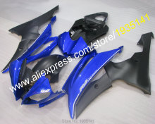 Hot Sales,For Yamaha YZF R6 Motorbike fairings blue black 2008-2016 YZF-R6 kit 08 09 10 11 12 13 14 16 YZFR6 (Injection molding)(China)