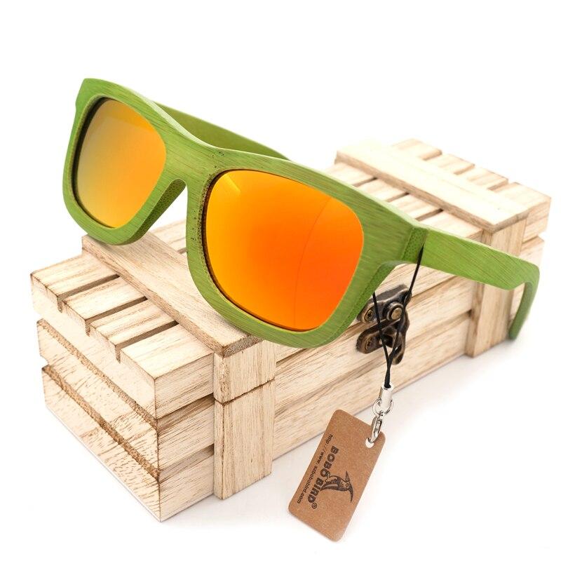 BOBO BIRD New Fashion 2017 Summer Style Bamboo Wooden Sunglasses Womens Mens Polarized UV 400 Eyewear in Box <br><br>Aliexpress