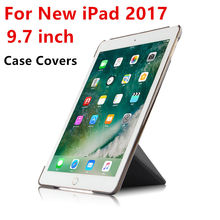 Case For iPad 9.7 inch New 2017 pattern list Protective Smart cover Leather PU Tablet PC For New iPad9.7 Protector Sleeve Cases