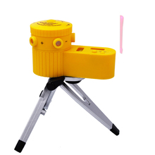 5pcs Instrument Multifunction Laser Level Leveler Vertical Horizontal Line Device Tool LV60 With Rotation Tripod(China)