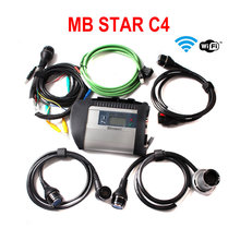2017 software V2017.09 mb star c4 MB SD connect c4 Support 12V&24V Voltage Diagnostic Tool with WIFI Function(China)