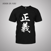 One Piece T shirt 2016 Fashion Japanese Anime Clothing Back Color Cotton T-shirt For Man And Women,Brand Camiseta justice
