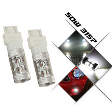 3157 3156 led High Power 16 SMD 5730 LED Amber Yellow Turn Signal White P27W T25 car bulbs Red P27/7W Car Light Source lamp 12v