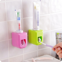 5PCS Automatic Toothpaste Dispenser Tooth Brush Toothpaste Holder Tooth Paste Tube Squeezer Dispenser Squeeze Out Bathroom Sets