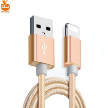 XINNIER 2A Nylon USB Charger Cable for iPhone 5 5s 6 6s 7 Plus iOS 9 10 Fast Charging Cables for iPad Phone Accessories