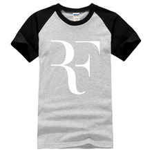 roger federer mma letter print men short sleeve brand cotton casual male t shirts 2017 new fashion mens summer tee shirt homme