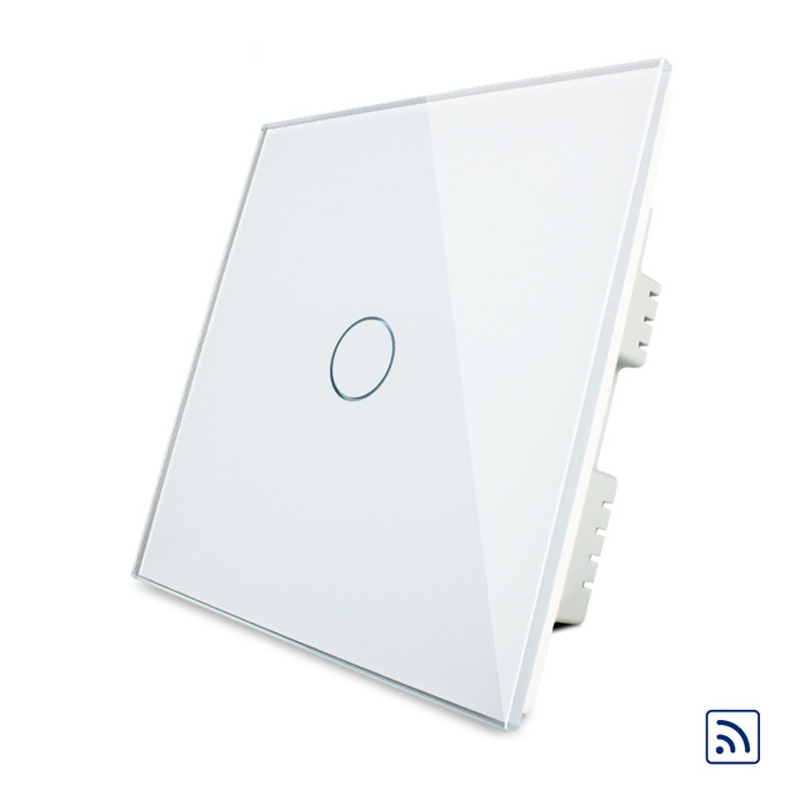UK Standard  Livolo Remote Control Light Switch,1 Gang 1 Way Wireless Control Wall Light Switch For Smart Home<br><br>Aliexpress