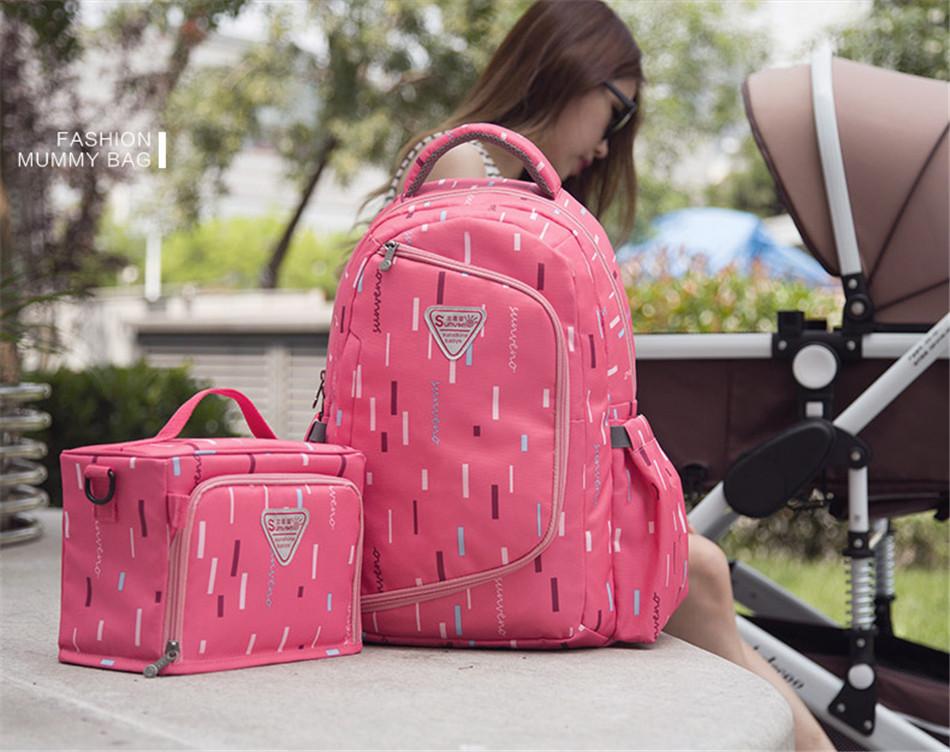 SUNVENO حقيبة مستلزمات الطفل 14