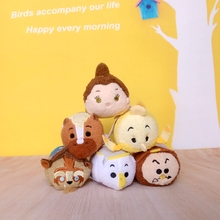 Hot 2017 Tsum Tsum Plush toy doll Cute Screen Cleaner for 3.5'' TSUM TSUM mini doll toy juguetes for Christmas gifts