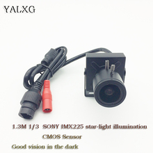 "Yalxg Home Security Indoor IP HD 960P 1/3 "" SONY IMX225 star-light illumination Mini IP CCTV Smallest Surveillance Camera(China)"