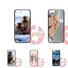 Phone Case Skin Cover lovely otters holding hands For Samsung Galaxy S2 S3 S4 S5 S6 S7 edge mini Active Ace Ace2 Ace3 Ace4