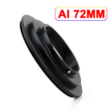 AI-72mm 72 mm Macro lens Reverse Ring Adapter for Nikon AI Mount(China)