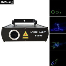 RGB 7 Colors & SD Card Laser Light Disco DJ Stage Lighting LED RGB Crystal Ball Laser Light