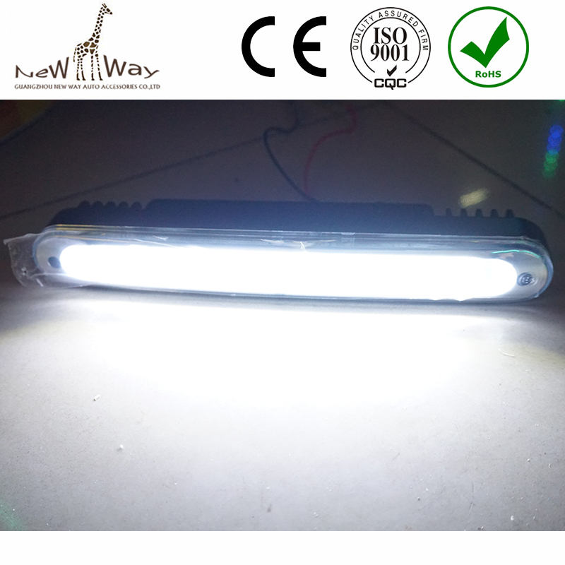 Wholesale Price 2pcs  Ultra-thin 12W COB LED Daytime Running Light LED DIY DRL Fog car lights with Protective tube and Stents<br><br>Aliexpress