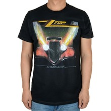 Free shipping  ZZ Top Houston Texas American Blues Rock  Roll Band Black 100% cotton new T-Shirt