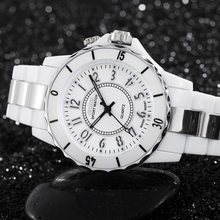 Famous brand OHSEN quartz women lady watch wristwatches waterproof dive fashion LED White Luxury Dress watch Gifts Relojes Mujer(China)