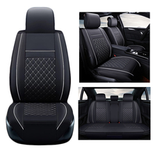for Dodge Caliber car seat cover set black PU leather seat covers for car seat cushion full set cover seat protector