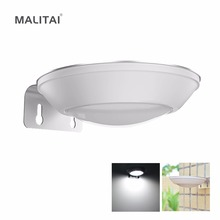 MALITAI LED Solar light Radar Sensor Motion Activated Wall lamps Bulb Outdoor Garden Security lights Porch Pathway Patio Street