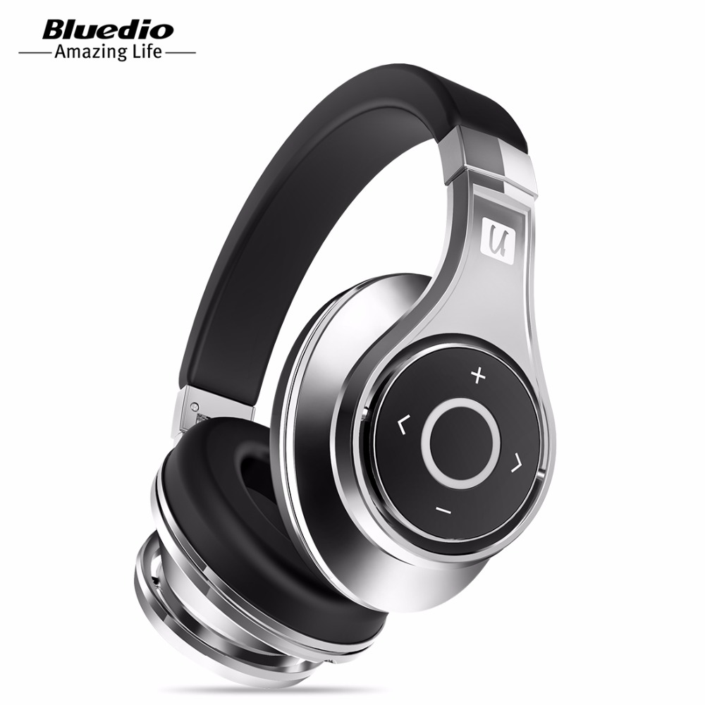 Bluedio U(UFO)High-End Genuine Bluetooth headphone Patented 8 Drivers/3D Sound/Aluminum alloy/HiFi Over-Ear wireless headset(China (Mainland))