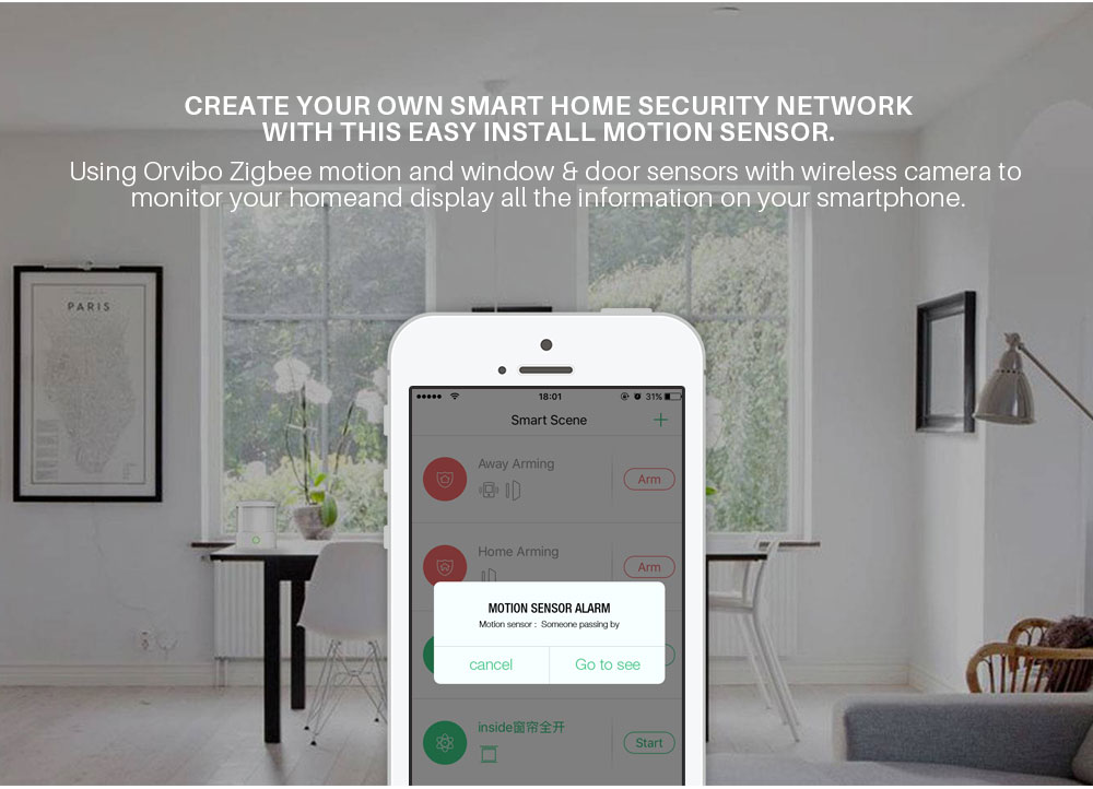 Orvibo ZigBee Smart Home Security Kit (7)