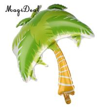 MagiDeal Brand New 1Pc Green Palm Tree Golden Hawaiian Beach Party Balloon Outdoor Baby Birthday Wedding Festival Occasion Decor