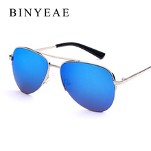 BINYEAE 2017 High Quality Pilot Alloy Polarized Sunglasses Men Retro Classic Alloy Frame Sun Glasses Male Oculos Shades