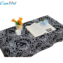 Ouneed 90x90cm/ 60x60cm Dining Phoenix Bird Multi Functional Table Cloth for Party Picnic Cloth Happy Gifts High Quality
