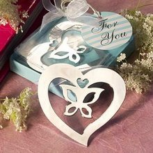 FREE SHIPPING+ Book Lovers Collection Love Butterfly Bookmark Wedding&Bridal Shower Favors and Gift For Guest+100pcs/lot