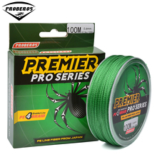 100M Fishing Line  Red / Green / Grey /Yellow/Blue braided fishing line available 86LB-100LB PE Line Green Package